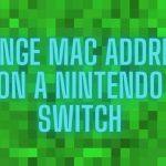 Change MAC Address on a Nintendo Switch